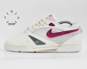 NOS 1990 Vintage Nike Air Killshot Flex Low Sneakers Tennis Court Trainers Deadstock Athletic