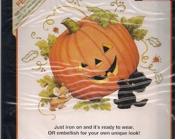 Dimensions Iron on Transfer Jack O Lantern Halloween