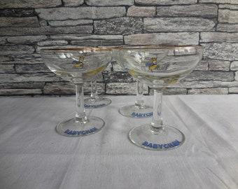 I'd love a Babycham set of 4 Babycham glasses #4