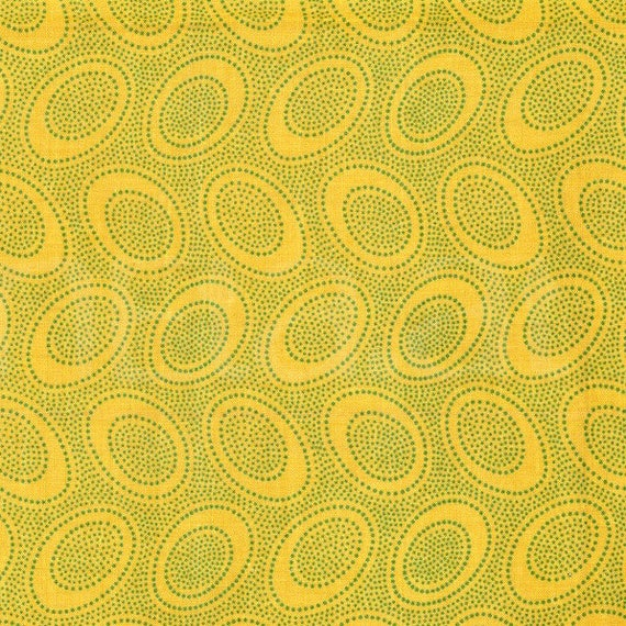ABORIGINAL DOT Ochre  GP71  by Kaffe Fassett sold in 1/2 yard increments