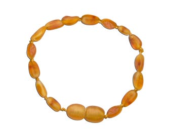 Genuine Baltic Amber Teething Bracelet (ATBU-Honey)