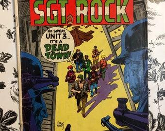 1968 No. 195 July DC Comics Our Army At War Sgt Rock Comic Book, Vintage Sgt Rock Superman National Comics , 1968 #195 Sgt Rock Comic Book