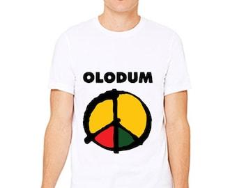 TDRCAU Michael Jackson Olodum  Custom T-Shirt 3001
