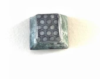 Honeycomb print keycap