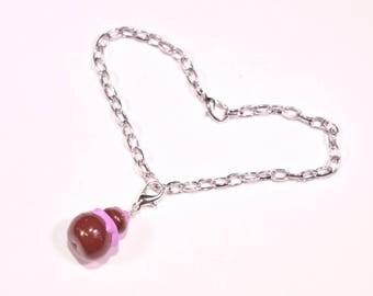 Purple religious bracelet
