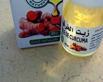 turmeric oil 30 ml. Morocco - France