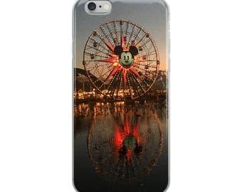 "iPhone Case 6,7,8, Plus - Disneyland California Adventure ""Mickey's Funwheel"" Paradise Pier Ride"