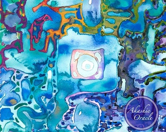 MANDALA ~ Framed Art Print ~ Meditate & Restore ~ Breathing into Balance <3