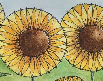 Sunflowers -  Signed Limited Edition Print