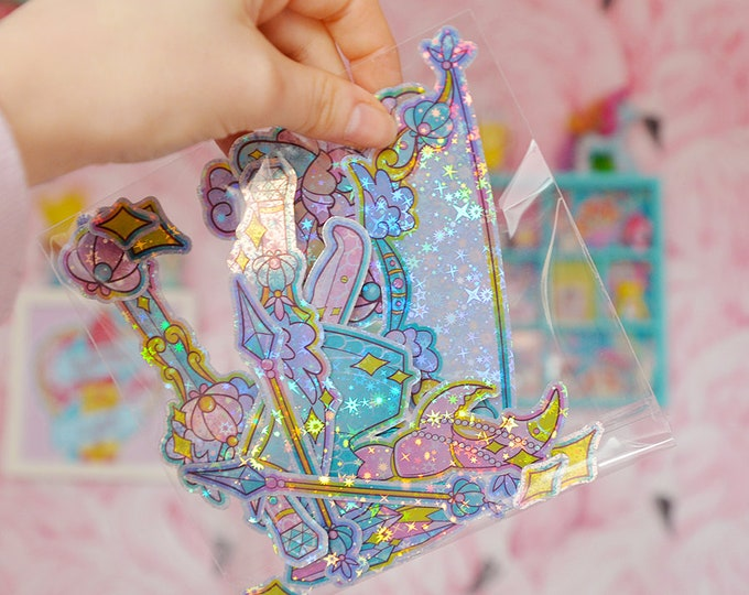 Mermaid Weapons, Holographic Sticker Pack