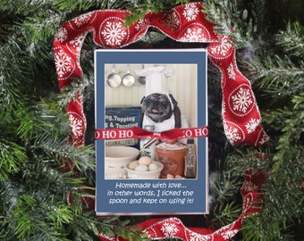 GIFT Pack 6 - The Maddie - 10 Magnet Gift Pack - Gifts for Pug Lovers - by Pugs and Kisses
