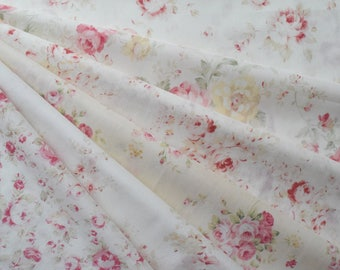 "Bundle of 1/8 Lecien Durhum Quilt Collection Beautiful Floral Fabric Set. Approx. 9"" x 21"" Made in Japan"
