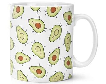 Avocado Pattern 10oz Mug Cup