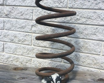 Large Industrial Spring, Truck Spring, Coil,  Decor, Salvage Auto Parts, Industrial Decor, Industrial Salvage