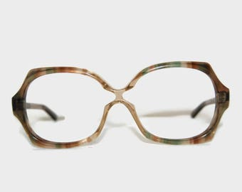 70's Birch eyeglass frames, Made in England