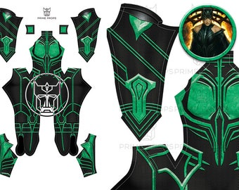 Thor Ragnarok Hela Pattern