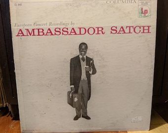 Louis Armstrong And His All-Stars -Ambassador Satch - European Concert Recordings - Vinyl