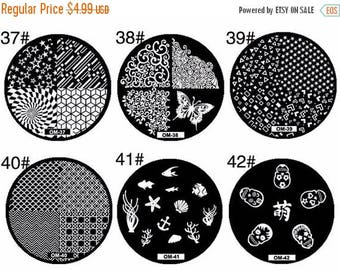 On Sale Nail Art stamping plate + Stamper nail stamping tool OM series