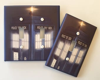 Doctor Who Light Switch Cover Whovian Tardis Booth Fandom