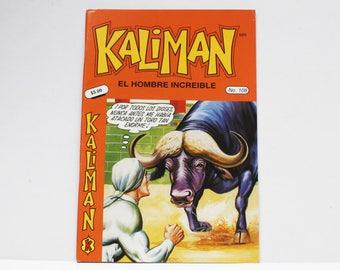 Kaliman El Hombre Increible No 108 El Faraon Sagrado Revista en Español Spanish Comic RARE