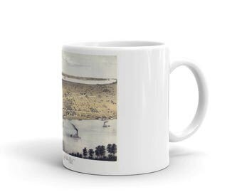Coffee Mug - Cairo Illinois 1867