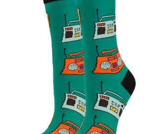 Play Dat Funky Music  Socks / Beauty Socks / Oooh Yeah Socks / Cool Socks / Funny Socks / Unique Socks