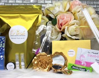 Essential Bridal Touch-Up & Survival Kit - Bridesmaid Gift - Wedding Gift - Makeup Kit - Wedding Favor - Bridal Party Gift