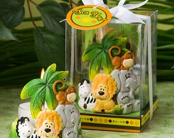Jungle Critters Collection Candle - Baby Shower Party Favor 20-72 Qty  FC8194