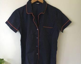 Vintage J.Crew Polka Dot Shirt