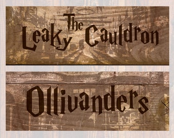 """Harry Potter Printable Location Signs  