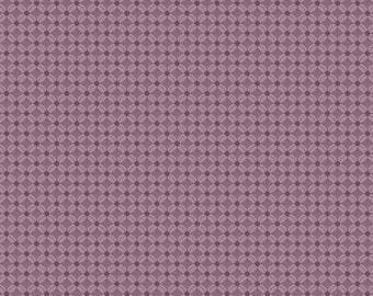 Andover Fabrics - Downton Abbey Collection - Quilting Cotton - The Downton Tuft Purple