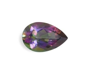 Mystic Northern Lights Topaz Pear Cut Loose Gemstone 1A Quality 7x5mm TGW 0.85 cts.