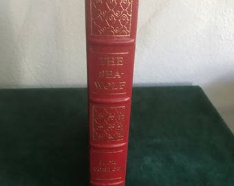"Easton Press Leather Bound Book ""The Sea Wolf"" by Jack London 100 Greatest Books Ever Written"