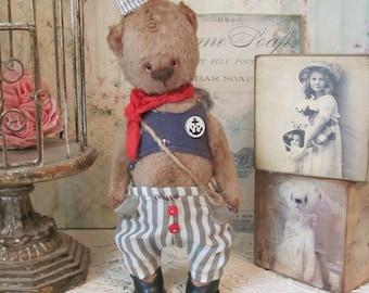 Teddy bear Harry, artist teddy bear, teddy bear