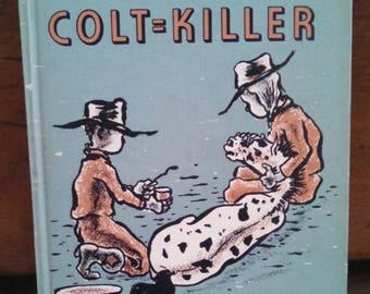 whitey and the colt killer children's vintage book glen rounds