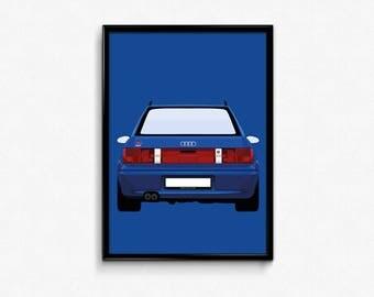 Audi RS2 A3 Print