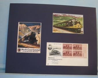 The Northern Pacific Railroad & First Day Cover of Casey Jones stamp
