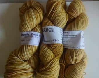 Toast, 350 yds 100% sw merino sock yarn