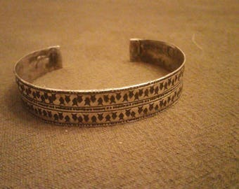 Silver Viking Bracelet