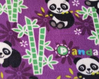 Pandas Antipill Fleece (1.5 yards)