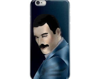 Freddie Mercury - iPhone Case - iPhone 6, 7, 8, X (+ plus) Pick Yours