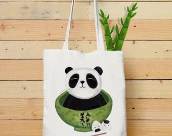 BAG WITH PANDA