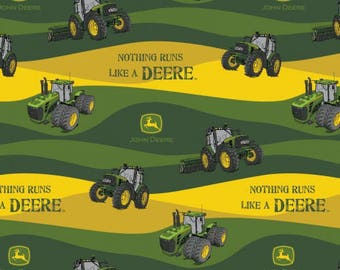 Nothing runs like a Deere Cotton Woven, Springs Creative