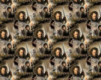 Lord of the Rings Return of the King, Aragorn Cotton Woven