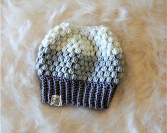 Ponytail Hat, Crocheted Hat, Pony Hat, Ponytail Beanie, Messy Bun Beanie, Messy Bun Hat, Top Knot Beanie, Adult Winter Hat