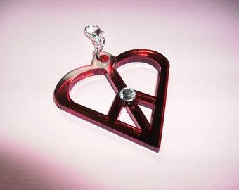 Jewellery charms, Plexiglas