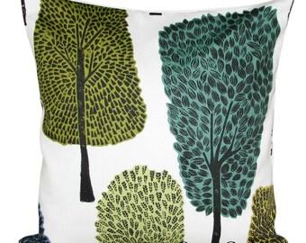 Scion Cedar Levande Slate & Apple  Woodland Cushion Cover