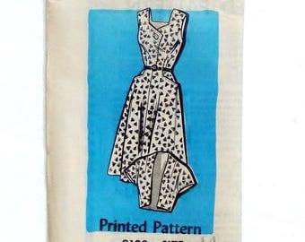 Vintage 50's Mail Order Dress & Bolero Pattern #9102 - PRE-CUT/FF - Size 14 (Bust 34)