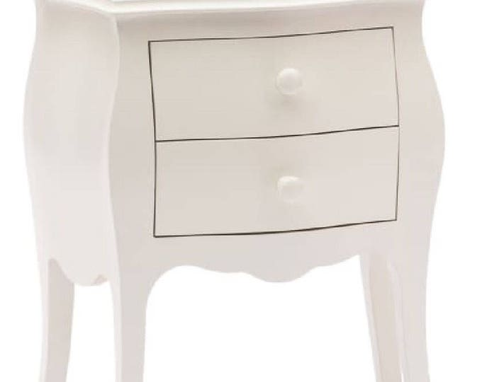 """""""Julia"""" rounded bedside table"""
