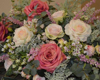 Head Table Decor, Wedding Arch, Chuppah Arch,  Silk Flower Arch, Wedding table backdrop, Silk Flower Backdrop, Silk Wedding Arch